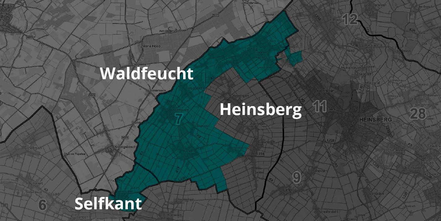 Kehrbereich Kasteleiner Selfkant Waldfeucht Heinsberg